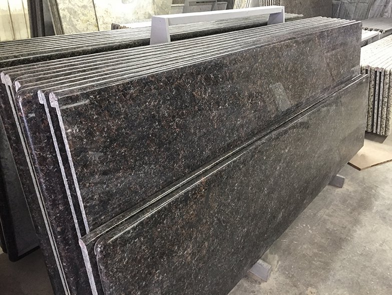 English Brown Granite : English brown slab smart stone granite countertops